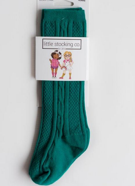 Little Stocking Company Jade Knee High Socks