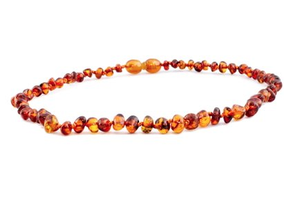 The Amber Monkey 10-11 Screw Necklace