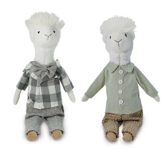 Mudpie Llama Dolls