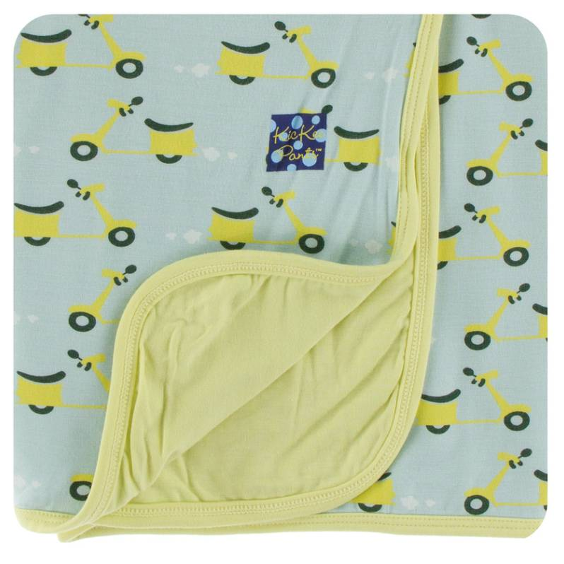 Kickee Pants Spring Sky Scooter Swaddle