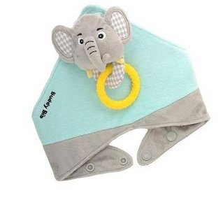 Munch Mitt Buddy Bib Elephant