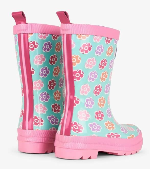 Hatley Flower Sketches Rainboots