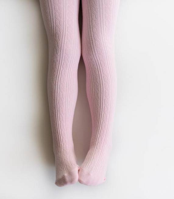 Little Stocking Company Light Pink Tights