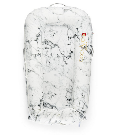DockATot Deluxe Dock Carrara Marble