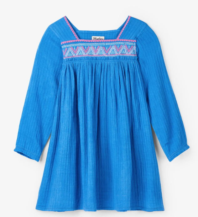 Hatley Sea Blue Beach Dress