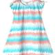 Art & Eden Wave Stripe Mini Amanda Dress