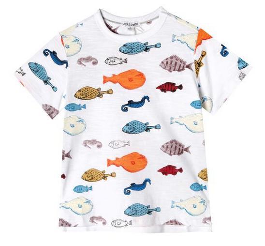 Art & Eden Sea Life Logan T-Shirt