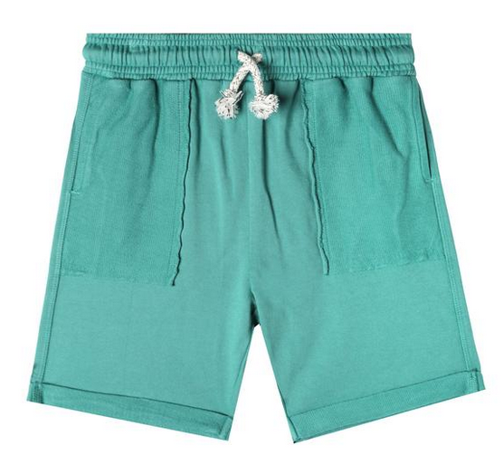 Art & Eden Teal Green Bermuda Shorts