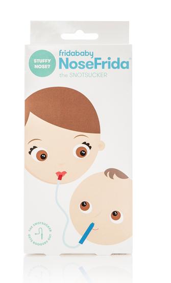 Fridababy NoseFrida w/ travel case