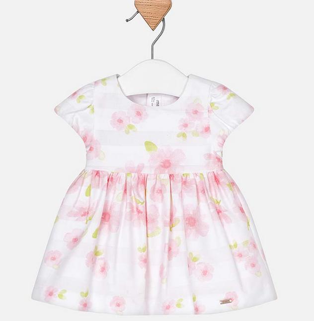 Mayoral Rose Printed Dress