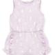Little Me Lilac Ruffle Romper