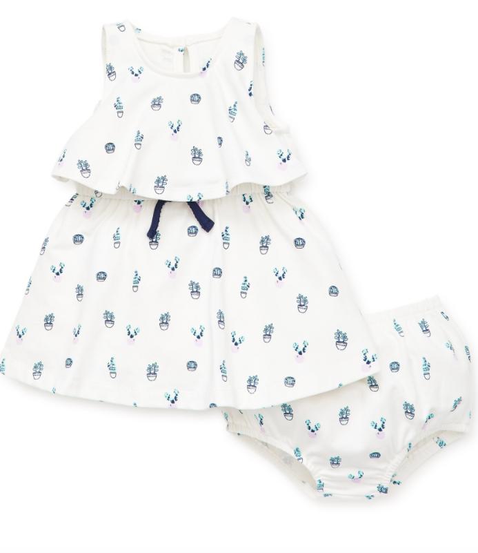 Little Me Cacti Dress