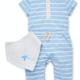 Little Me Ocean Coverall Set