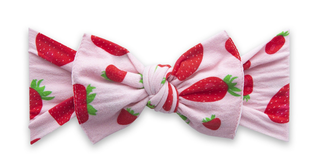 Baby Bling Printed Knot Very Berry