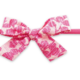 Baby Bling Cotton Print Bow Hot Pink Begonia