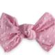 Baby Bling Patterned Knot Bubblegum Dot