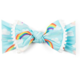 Baby Bling Trimmed Printed Knot Rainbow