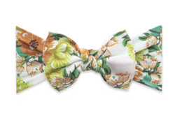 Baby Bling Printed Knot Granny Floral
