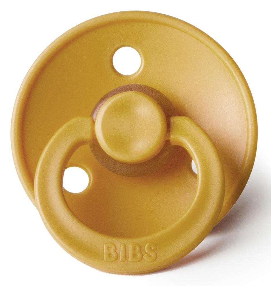 Bibs Pacifer Bibs Pacifier Mustard