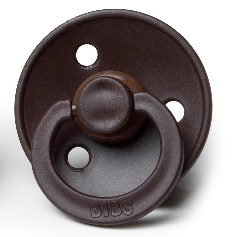 Bibs Pacifer Bibs Pacifier Chocolate