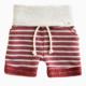 LuluAndRoo Redwood Stripe Shorts