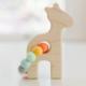 Bannor Toys Giraffe Wooden Teether