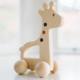 Bannor Toys Giraffe Push Toy