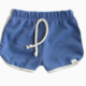 LuluAndRoo Baby Cobalt Midi Shorts