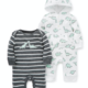 Little Me Dinos 2PK Coverall