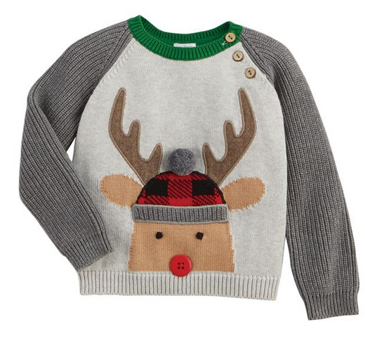 Mudpie Alpine Reindeer Sweater
