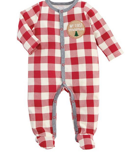 Mudpie Buffalo Check Sleeper