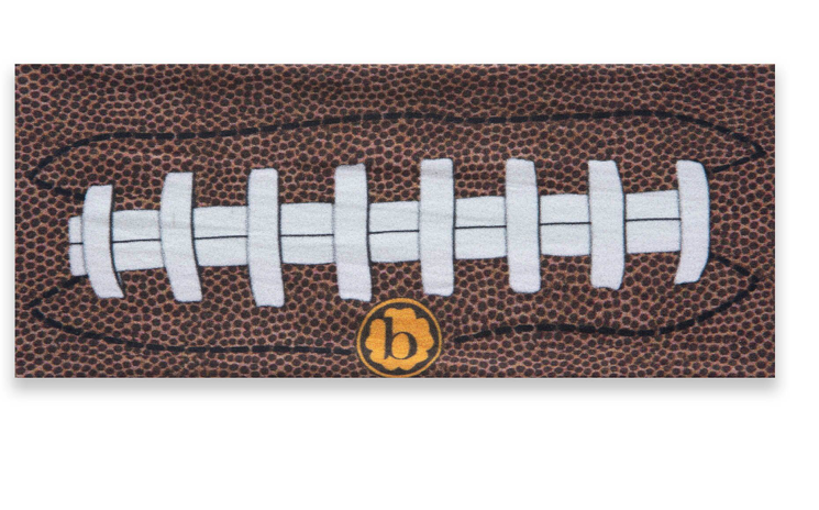 Baby Bling Printed Knot Touchdown