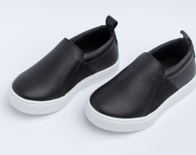 Freshly Picked Ebony Slip-On Sneaker