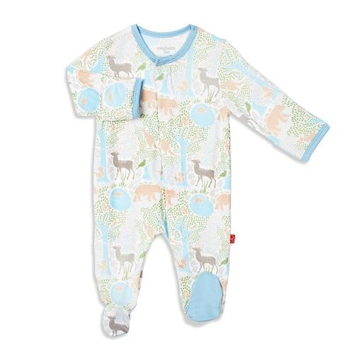 Magnificent Baby Acadia Magnetic Footie