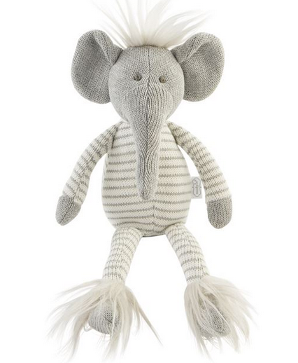 Mudpie Small Elephant Doll