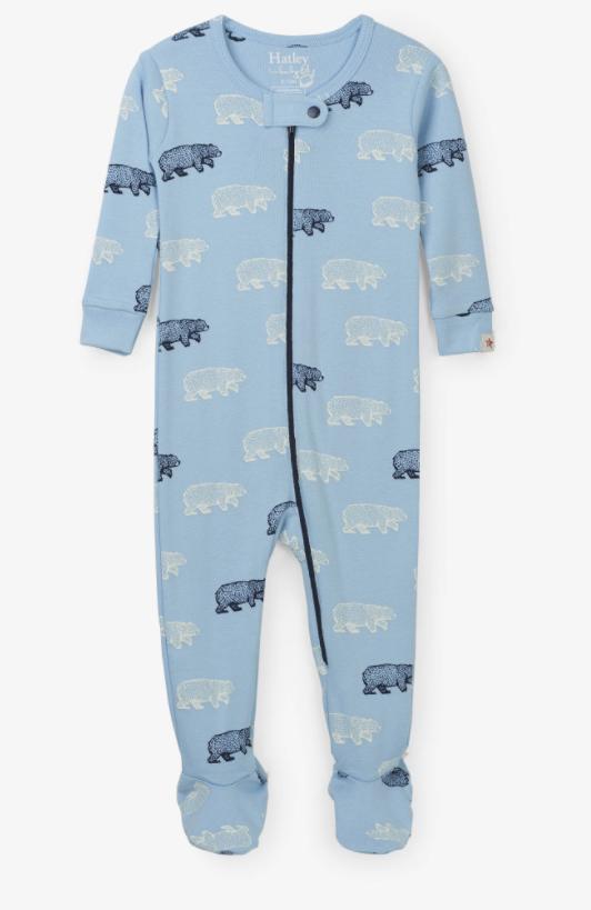 Hatley Blue Bears Sleeper
