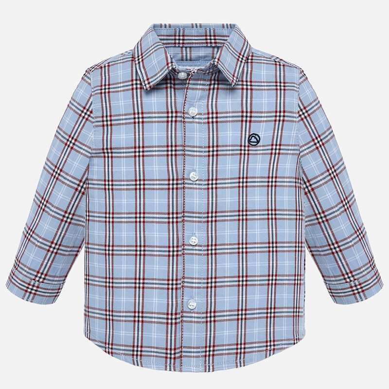 Mayoral Red Checked Shirt