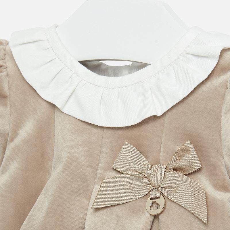Mayoral Beige Bow Dress