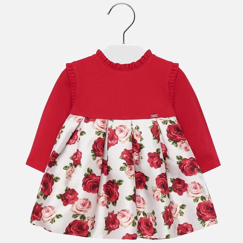 Mayoral Scarlet Floral Dress
