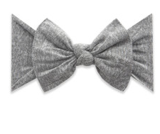 Baby Bling Patterned Knot Heathered Grey