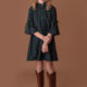 Mabel + Honey Green Enchanted Forest Dress