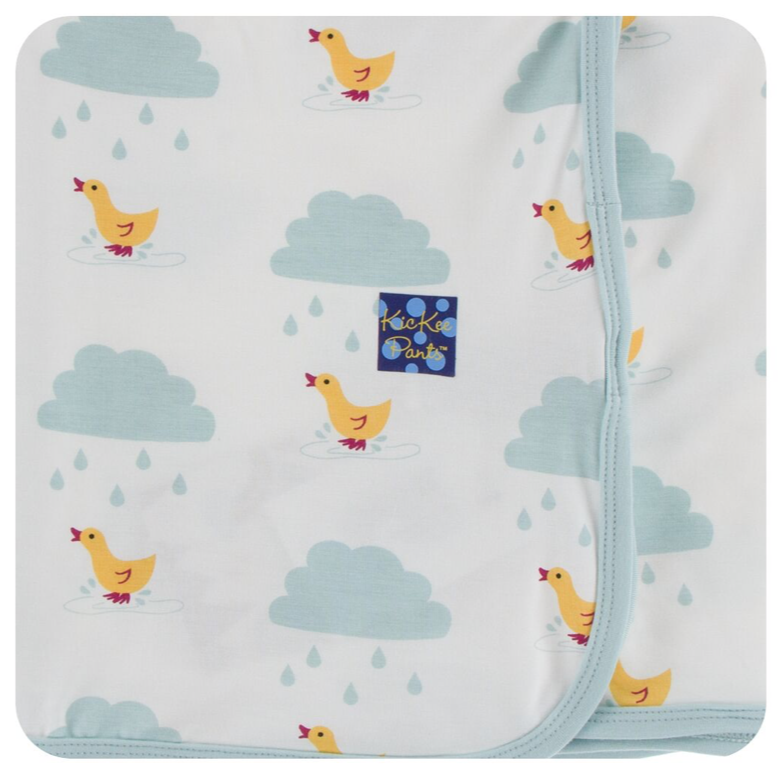 Kickee Pants Natural Duck Swaddle