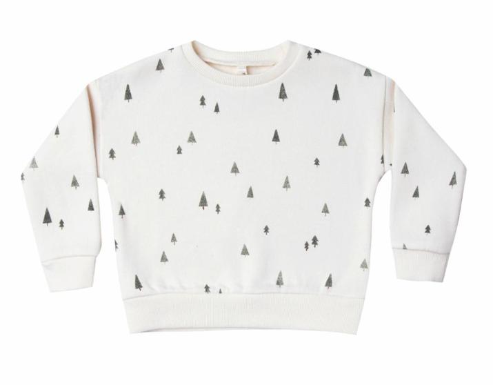Rylee & Cru Kid Trees Relax Sweatshirt