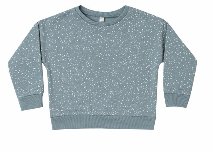Rylee & Cru Kid Snow Relaxed Sweatshirt