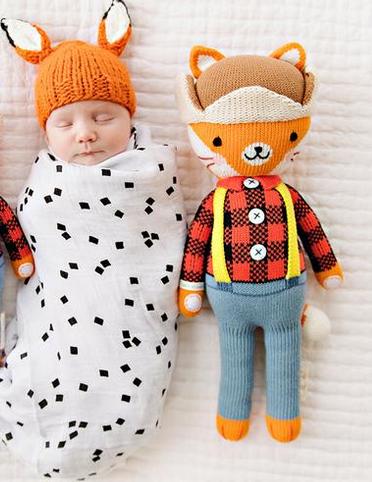 Cuddle + Kind Wyatt The Fox Large