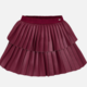 Mayoral Ruby Leather Pleated Skirt