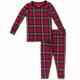 Kickee Pants Christmas Plaid PJ Set Kids