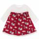 Kickee Pants Crimson Pups/Presents Dress