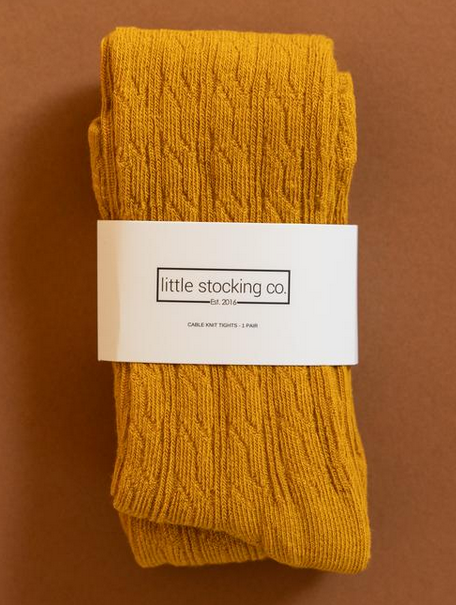 Little Stocking Company Golden Yellow Tights