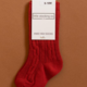 Little Stocking Company Spice Red Knee High Socks